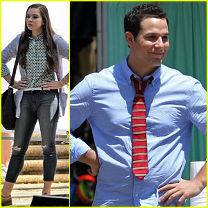 Hailee Steinfeld & Skylar Astin Have Hands on Hips for First 'Pitch Perfect 2' Scenes!