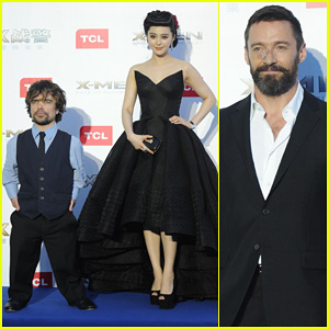 Hugh Jackman Premieres 'X-Men' in Beijing with Fan Bingbing & Peter Dinklage!