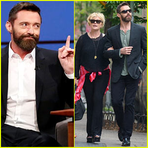 Hugh Jackman Punched Seth Meyers & He Had to Fight Back Tears!