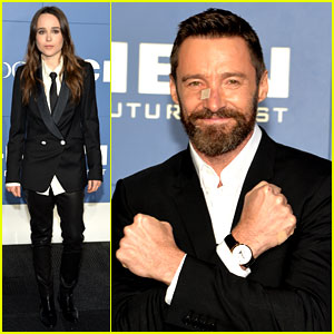 Hugh Jackman Wears Bandage on Nose to 'X-Men' Premiere