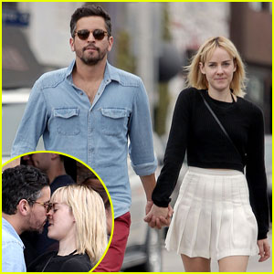 Jena Malone Kisses Boyfriend John Pina During L.A. Lunch Date