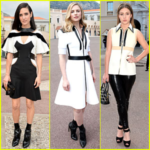 Jennifer Connelly & Brit Marling Look Lovely for Louis Vuitton