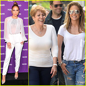 Jennifer Lopez Continues to Adore Mom Guadalupe After Mother's Day!