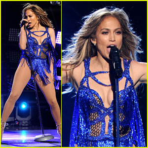 Jennifer Lopez Performs 'First Love' on 'American Idol' Finale!
