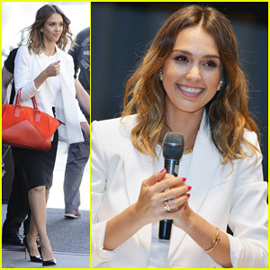 Jessica Alba Hits New York for Social Innovation Summit 2014!