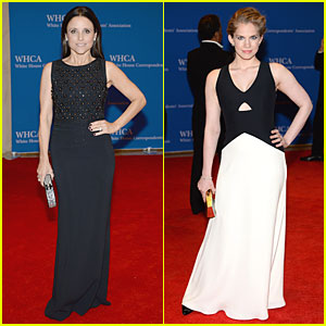 Taylor Schilling & AnnaSophia Robb Are Blond Bombshells at White ...