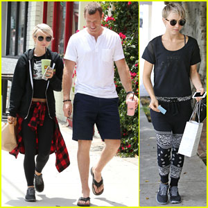 Julianne Hough and Boyfriend Brooks Laich Make a Smoothie Stop!