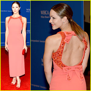 Katharine McPhee Brings Sexy Back to White House Correspondents' Dinner 2014