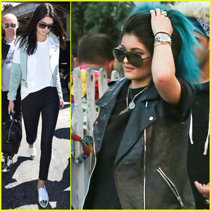 Kendall Jenner Makes Her Cannes Arrival, While Sister Kylie Stays Stateside