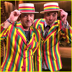 Kevin Spacey Sings 'Talk Dirty' with Jimmy Fallon & His Barbershop Quartet - WATCH NOW!