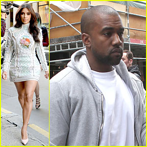 Kim Kardashian Changes into Sexy Short Dress For Lunch with Sisters!