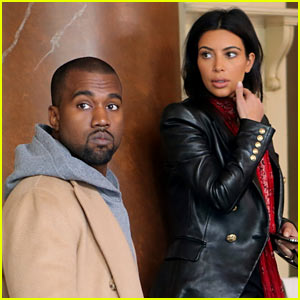 Kim Kardashian & Kanye West Enjoy Romantic Honeymoon Dinner in Prague!
