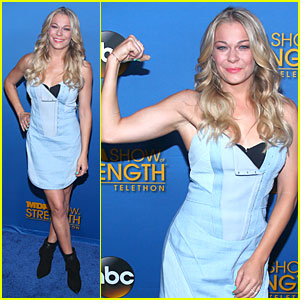 LeAnn Rimes Confidently Flexes at MDA Show Of Strength Telethon!