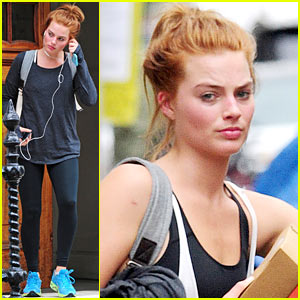 Margot Robbie Dyes Her Hair Red - See the Pics!