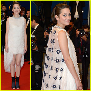 Marion Cotillard's Dress Brings All Eyes to Her Back at 'Two Days, One Night' Cannes Premiere!