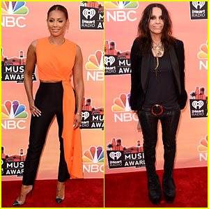 Mel B & Linda Perry Rock Out at iHeartRadio Music Awards 2014