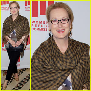 Meryl Streep Performs a Dramatic Reading at Voices of Courage Awards 2014