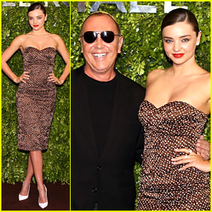 Miranda Kerr Travels to China for Michael Kors Store Opening!