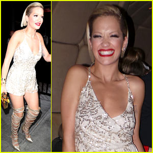 Rita Ora Switches to a Short Dress for Met Ball 2014 After Party! (Exclusive Pics)