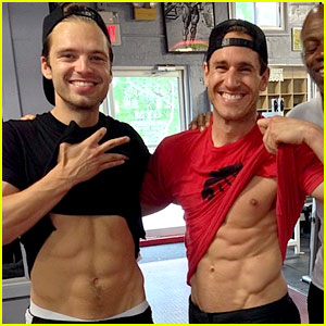 Sebastian Stan Flashes His Abs After His Workout - See the Pic!