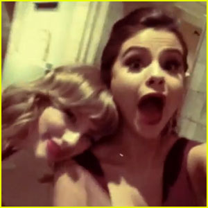 Selena Gomez & Taylor Swift Put Feud Rumors to Rest at Met Ball 2014! (Video)