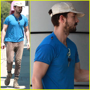 Shia LaBeouf Sure is Dedicated to the Gym These Days!