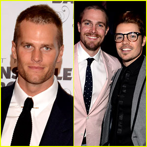 Tom Brady & Stephen Amell Add Hunk Factor to Kentucky Derby!