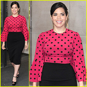 America Ferrera Is Red Hot Promoting 'How to Train Your Dragon 2'!