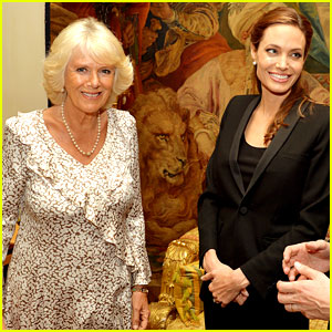 Angelina Jolie Made an Honorary Dame by Queen Elizabeth II!