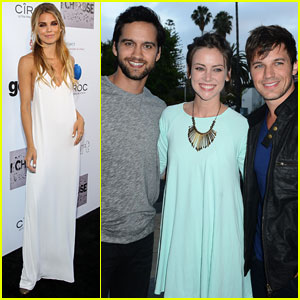 AnnaLynne McCord Hosts Impomptu '90210' Reunion at Her 'I Choose' Premiere!