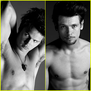 There's No Fault in Ansel Elgort's Shirtless Photo for 'Interview'!