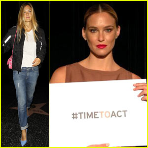 Bar Refaeli Joins Campaign to End Sexual Violence in Conflict