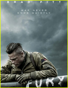 Brad Pitt Looks War Torn in Brand New Poster for 'Fury'