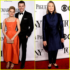 Nominees Celia Keenan-Bolger, Cherry Jones, & Brian J. Smith Arrive at Tony Awards 2014!