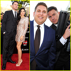 Channing Tatum Talks Winning X-Rated Bet Against Jonah Hill on 'Conan' - Watch Now!