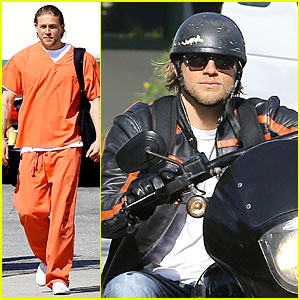 Charlie Hunnam Gets Released From Jail On 'Sons of Anarchy'!