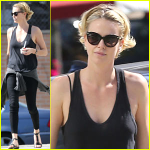 Charlize Theron Forgets Her Money for Pinkberry Tab, Comes Back Later with a Huge Tip!