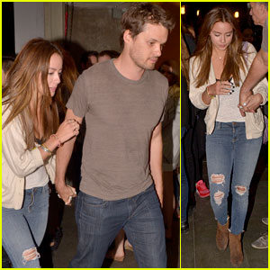 Chloe Bennet & Austin Nichols Get Cozy for Date Night!