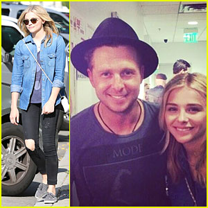 Chloe Moretz Jams to OneRepublic at Hollywood Bowl Concert!