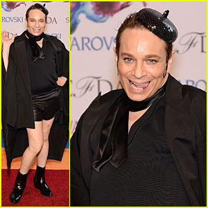 Chris Kattan Channels 'SNL' Stripper Mango at CFDA Awards 2014
