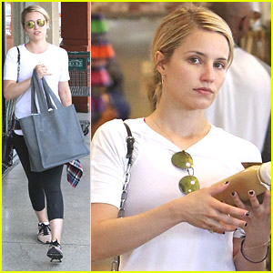Dianna Agron Is a Closet Boxing Fan