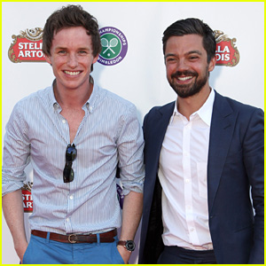 Eddie Redmayne & Dominic Cooper Stop By Stella Artois Wimbledon Launch Party