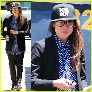 Ellen Page Takes the 'Tom Boy' Title at Lunch with Her Publicist!