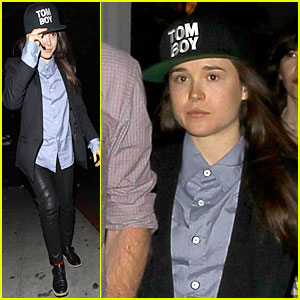 Ellen Page Says Hollywood People Can Be Creepy!