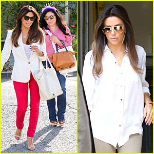 Eva Longoria Really Knows How to Pamper Sister Lucky For Her Birthday!