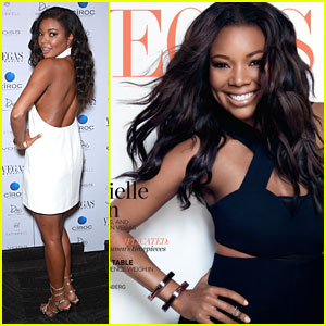 Gabrielle Union is Bringing Sexy Back at 'Vegas' Cover Party!