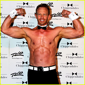 Ian Ziering Goes Shirtless at 50 for Chippendales Return!