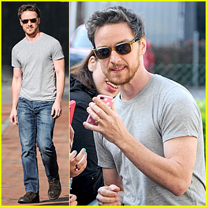 James McAvoy Will Display His Athleticism at Soccer Aid!