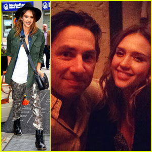 Jessica Alba Raves About Zach Braff's 'Bullets Over Broadway'!