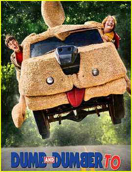 Jim Carrey & Jeff Daniels Get Back in the Mutt Cutts Van for 'Dumb & Dumber To' Poster!